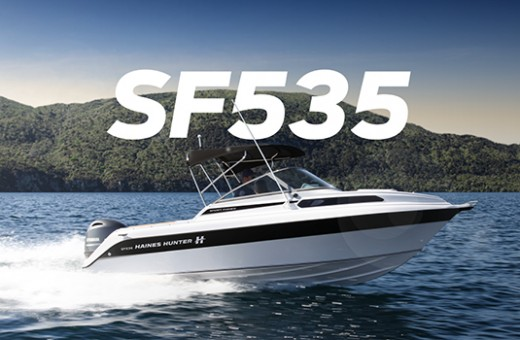 SF535 Sport Fisher | Haines Hunter