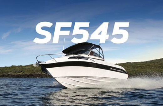 SF545 Sport Fisher | Haines Hunter