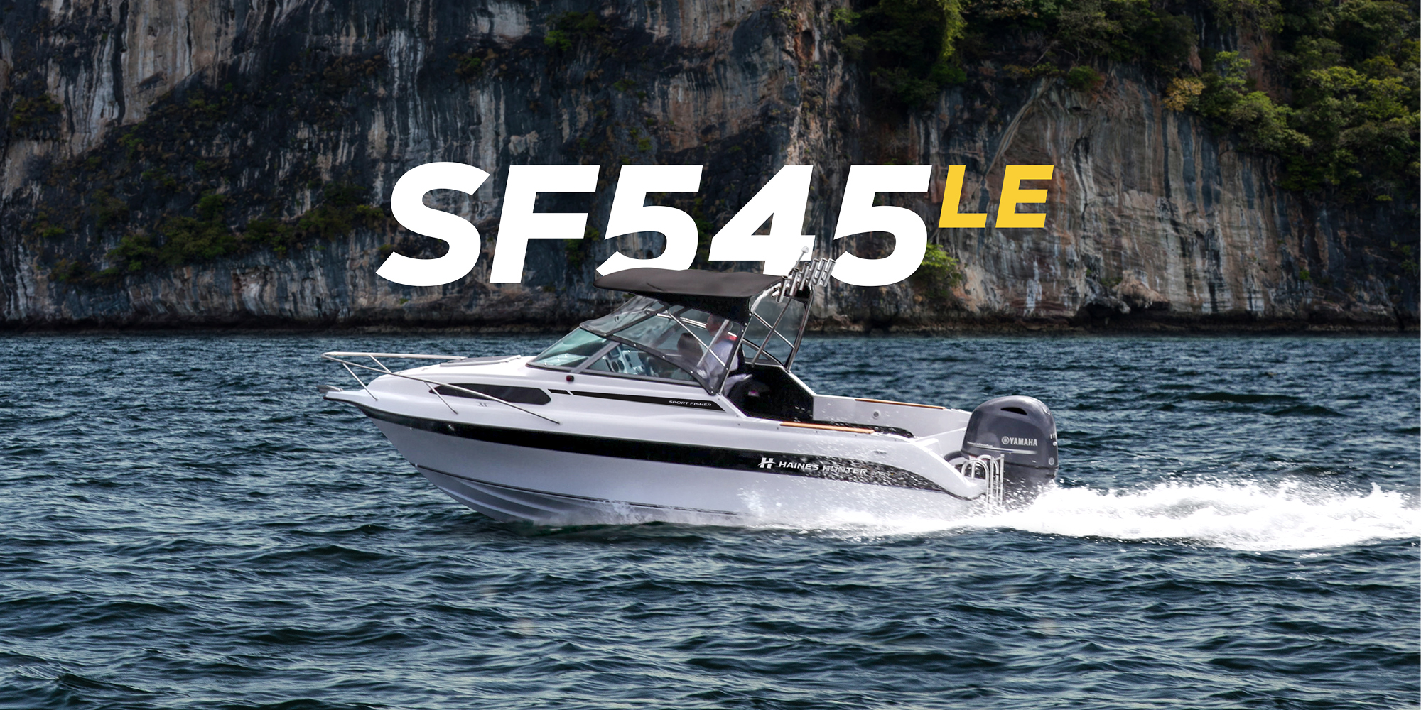 Haines Hunter SF545LE HERO | Haines Hunter HQ