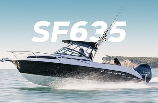 SF635 Sport Fisher | Haines Hunter