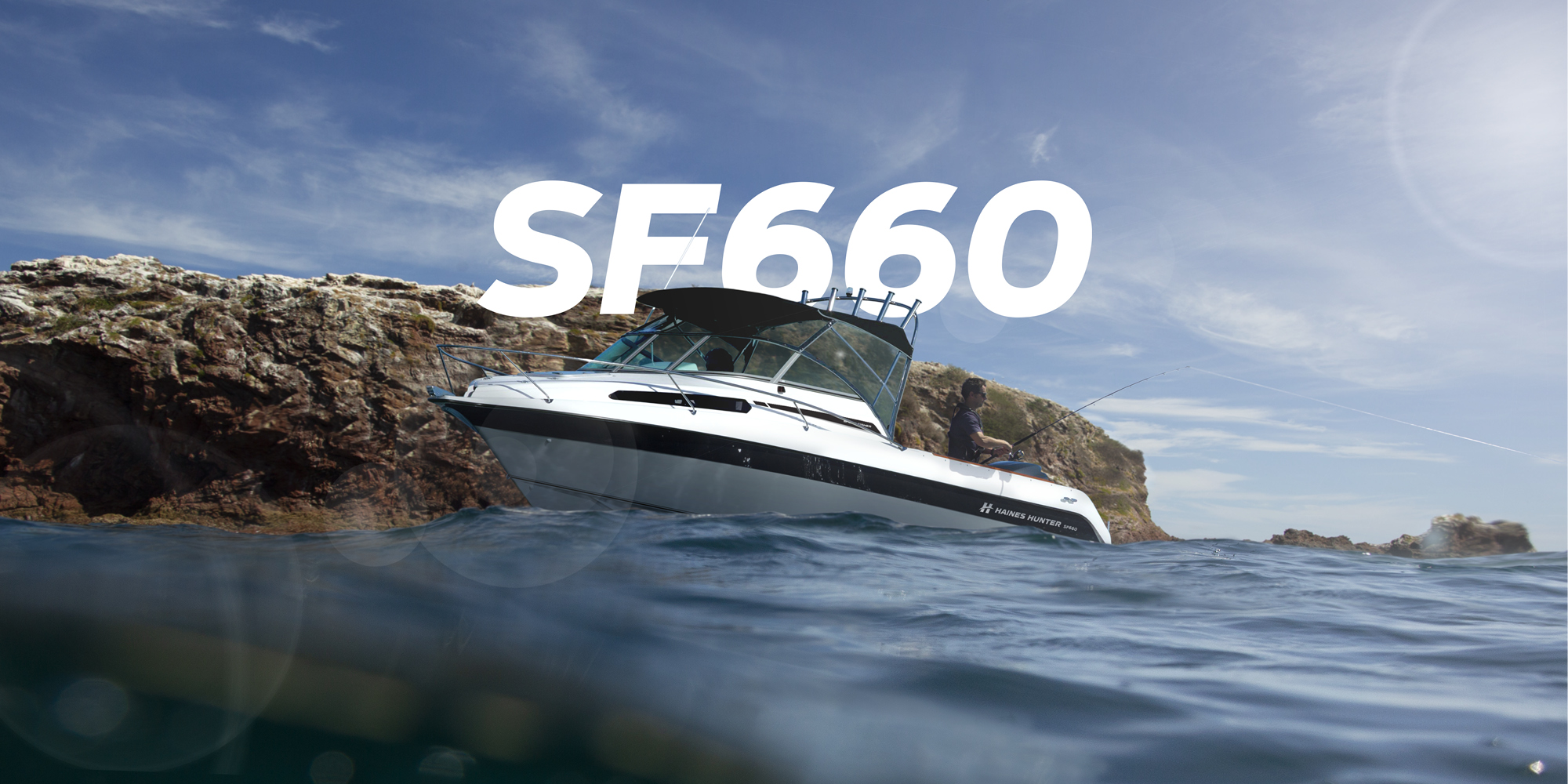 SF660 Sport Fisher | Haines Hunter