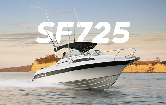 SF725 Sport Fisher | Haines Hunter