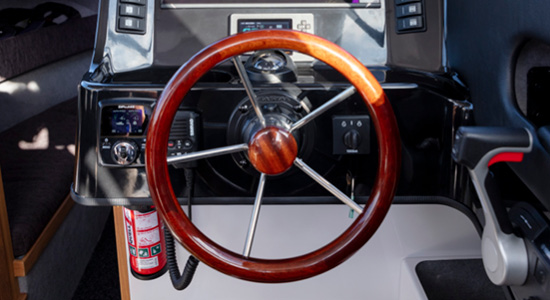 Wood Steering Wheel | Haines Hunter