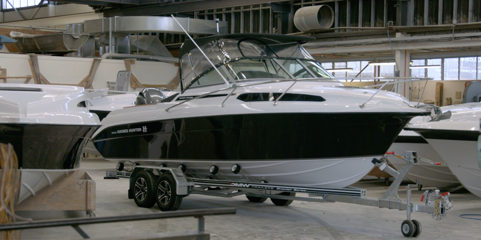 SF635 SPORT FISHER | Haines Hunter HQ