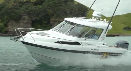 It's a really well proven hull, a really good seaboat. | Haines hunter