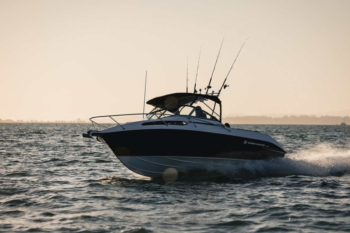…sets an even higher benchmark for performance and handling. | Haines Hunter
