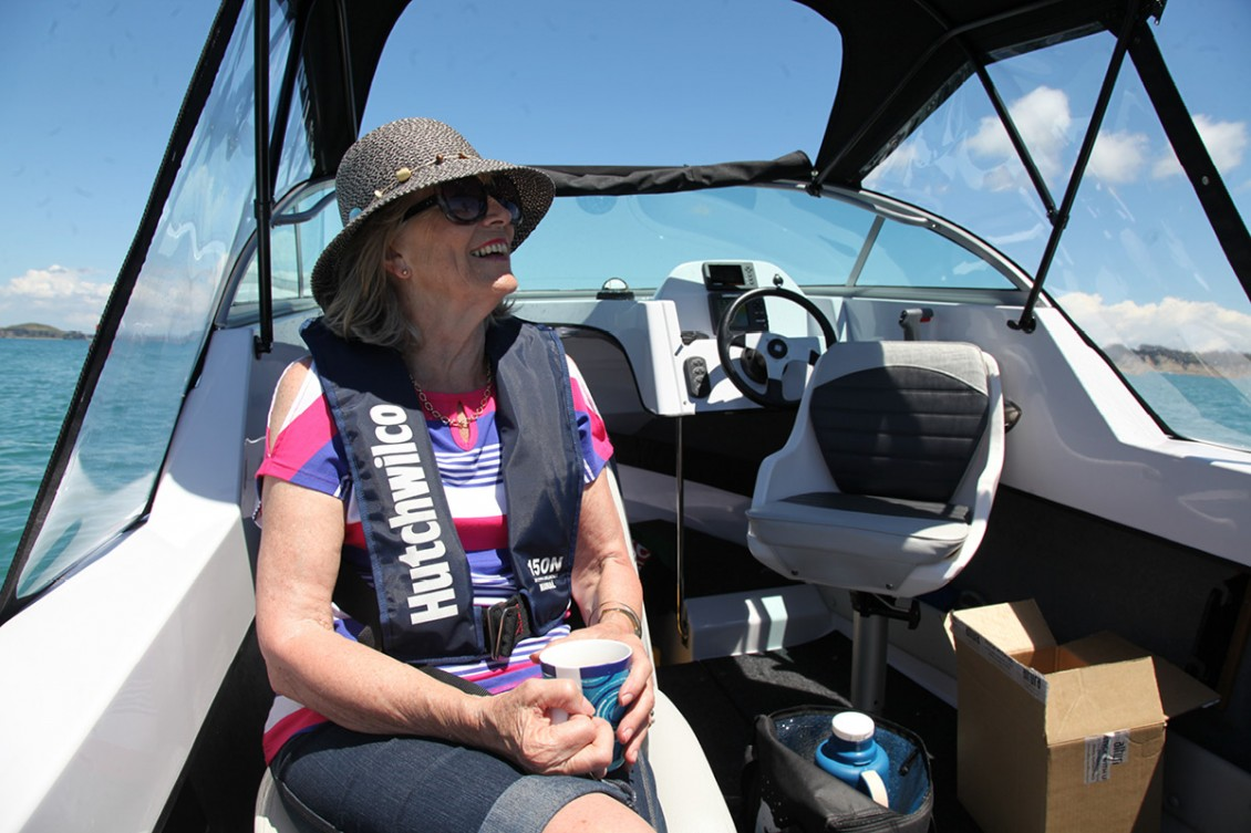 Back-to-back seats provide exceptional comfort | Haines Hunter