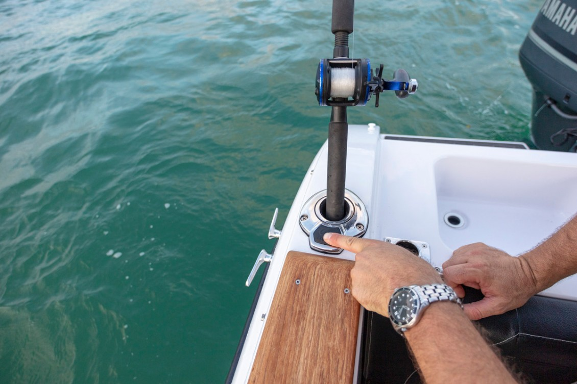 Adjustable Rod Holders | Haines Hunter